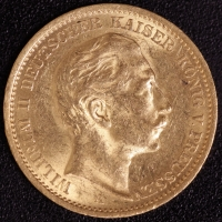 20 Mark Wilhelm II 1891