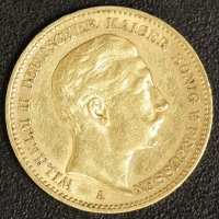 20 Mark Wilhelm II 1899