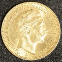 20 Mark Wilhelm II 1902