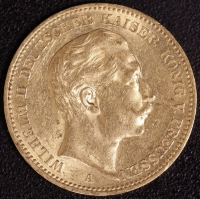 20 Mark Wilhelm II 1905 A