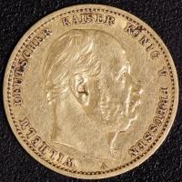 10 Mark Wilhelm I 1879 A