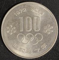 100 Yen 1972 Oly Sapporo