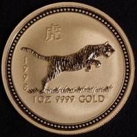 1998 Tiger 1 Unze Lunar I Gold