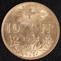 10 Fr. Vreneli 1912