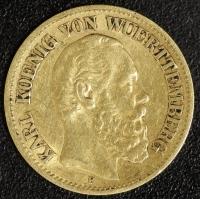10 Mark Karl 1876 ss