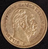 20 Mark Wilhelm I 1887 A