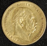 10 Mark Wilhelm I 1873 A