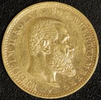10 Mark Wilhelm II 1909