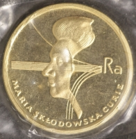 2000 Zloty Marie Curie 1979