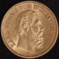 20 Mark Karl 1876 ss
