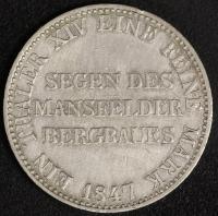 Taler 1847 Ausbeute