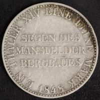 Taler 1848 Ausbeute