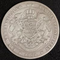 Vereinstaler 1862 ss