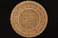 20 Fr. 1901 Tunesien