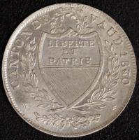 Waadt 5 Batzen 1830