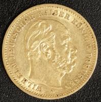 20 Mark Wilhelm I 1886 A