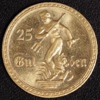 25 Gulden 1930 Neptun