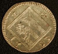 3 Kreuzer 1783