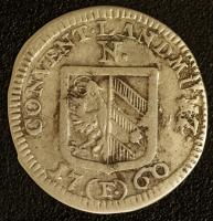 Landmünze 1760