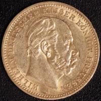 20 Mark Wilhelm I 1884 A
