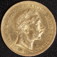 20 Mark Wilhelm II 1897