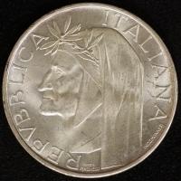 500 Lire Dante 1965