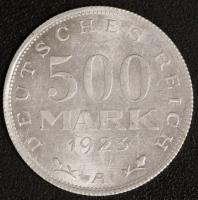 500 M. Kursmünze 1923 A
