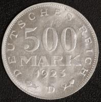 500 M. Kursmünze 1923 D