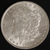 1 $ Morgan 1884 O vz