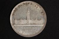 1 $ Canada 1939 Parlament