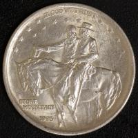 1/2 $ Stone Mountain 1925