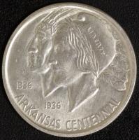 1/2 $ Arkansas 1935