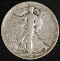 1/2 $ Walking Liberty