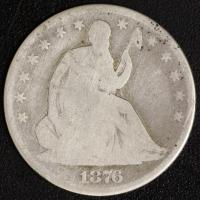 1/2 $ 1876