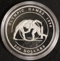 200 $ Oly 96 Ringen