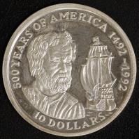 10 $ 500 J. Amerika 1990