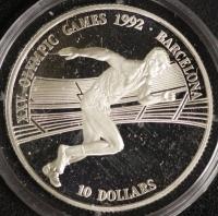 10 $ Oly Barcelona 1990