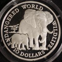 10 $ Elefant 1990