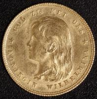 10 G. 1897 Wilhelmina