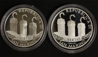 15 ¤ Silber-Satz San Marino 2002