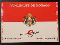 Kursmünzensatz 2002 Monaco st