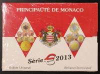 Kursmünzensatz 2013 Monaco st