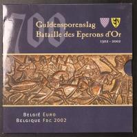 Kursmünzensatz 2002 Belgien