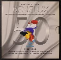 Kursmünzensatz 2008 BeNeLux