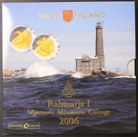 Kursmünzensatz 2006 Finnland