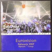 Kursmünzensatz 2007 Finnland Eurovision
