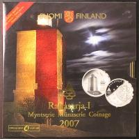 Kursmünzensatz 2007 Finnland