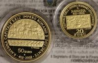 San Marino 70 ¤ Gold-Satz 2002