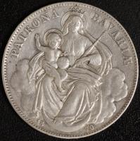 Vereinstaler Madonna 1870