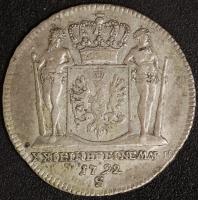 2/3 Taler 1792 S